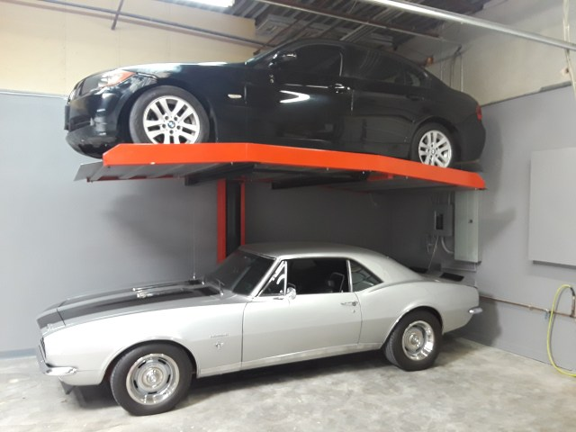 photo of available car stacker